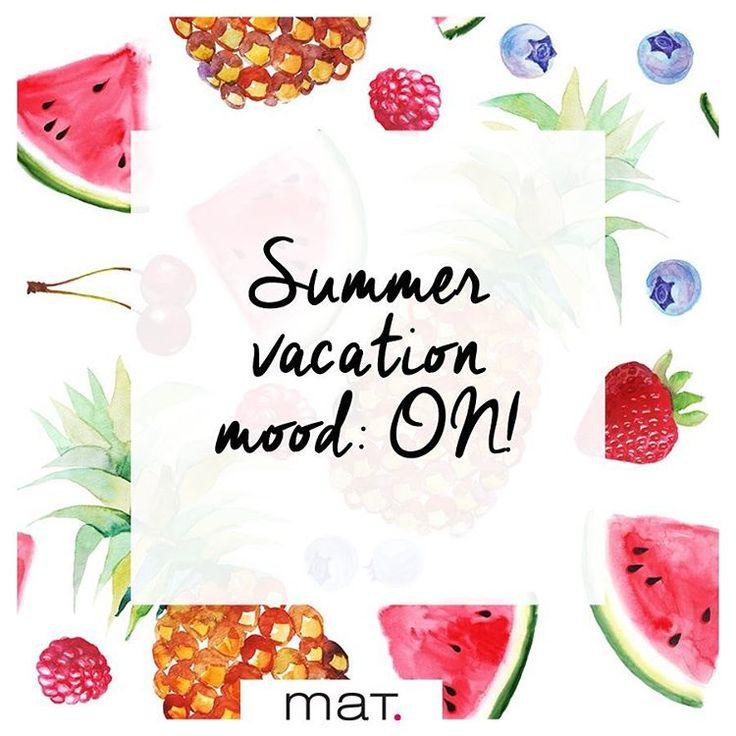 Καλώς μας ήρθες Αύγουστε, μήνα των διακοπών!  Welcome August! #matfashion #summer2016 #mood #on