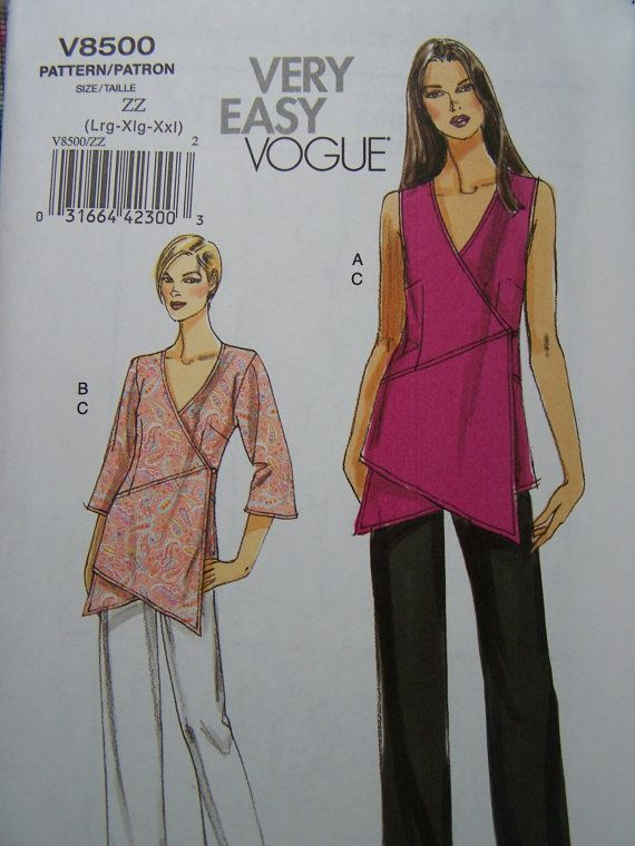 Vogue V8500 Very Easy Sewing Pattern Women's by WitsEndDesign