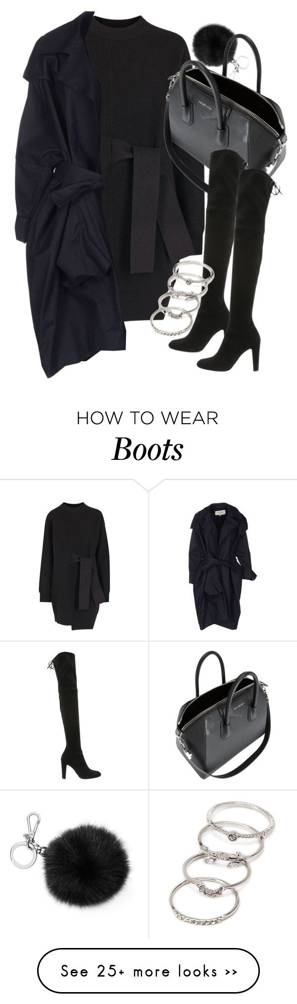 """""""Untitled #18943"""" by florencia95 on Polyvore featuring Proenza Schouler, Rue Du Mail, Michael Kors, Givenchy, Stuart Weitzman and Forever 21"""