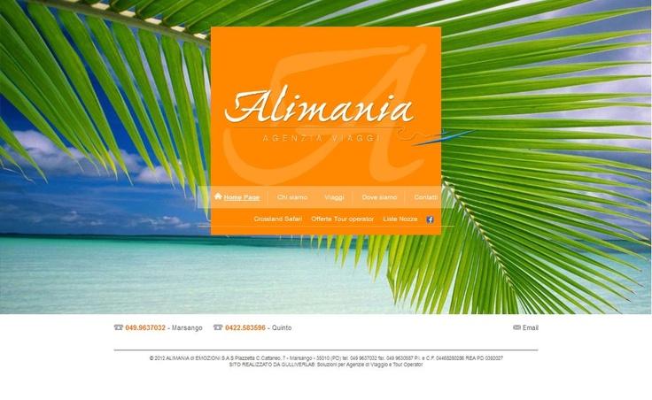 www.alimaniaviaggi.com  Alimania Viaggi, nasce nel 2000 da un gruppo di professionisti del settore con oltre 30 anni di esperienza.