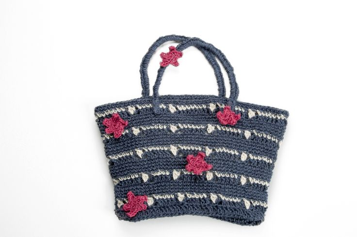 Shopper Bag! #amazing #spring #summer #mondial #bag #accessories for #girls and #women #magazine n.27 #filatilanemondial #yarns #juta