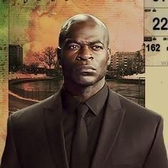 Hisham Tawfiq as Dembe Zuma from The Blacklist ~ Bald Men of Style