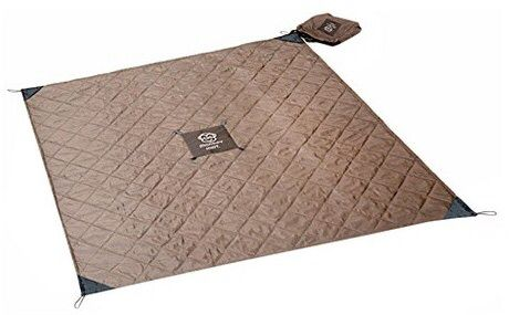 Monkey Mat® Your Cushioned Portable Floor - Gray Quilted