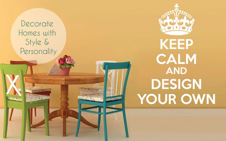 Customise your own Keep Calm Wall Decal
