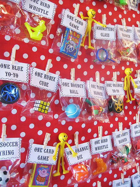 """Great idea for entertainment & favors...some sort of circus/carnival game with this as the """"prize"""" board."""