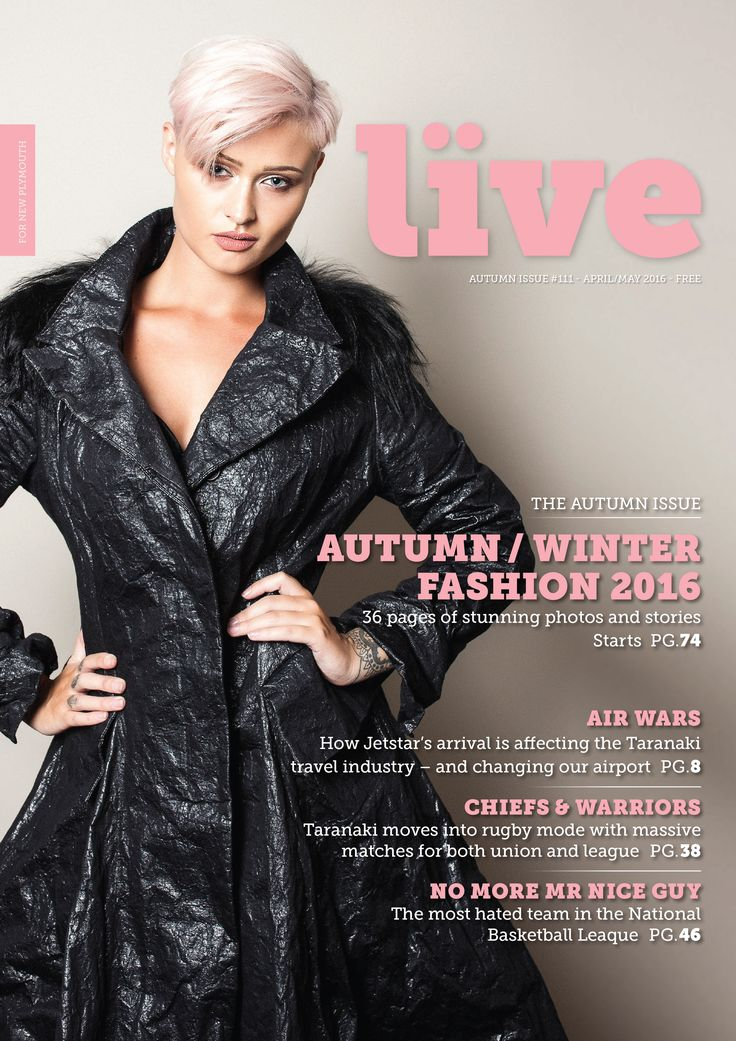LIVE Magazine Anett Rostel Coat
