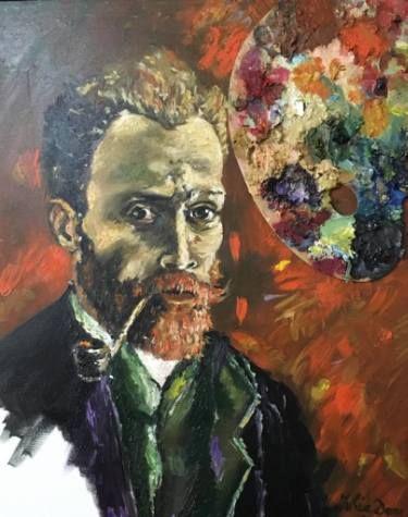 Van Gogh's Portrait - Iulia Deme