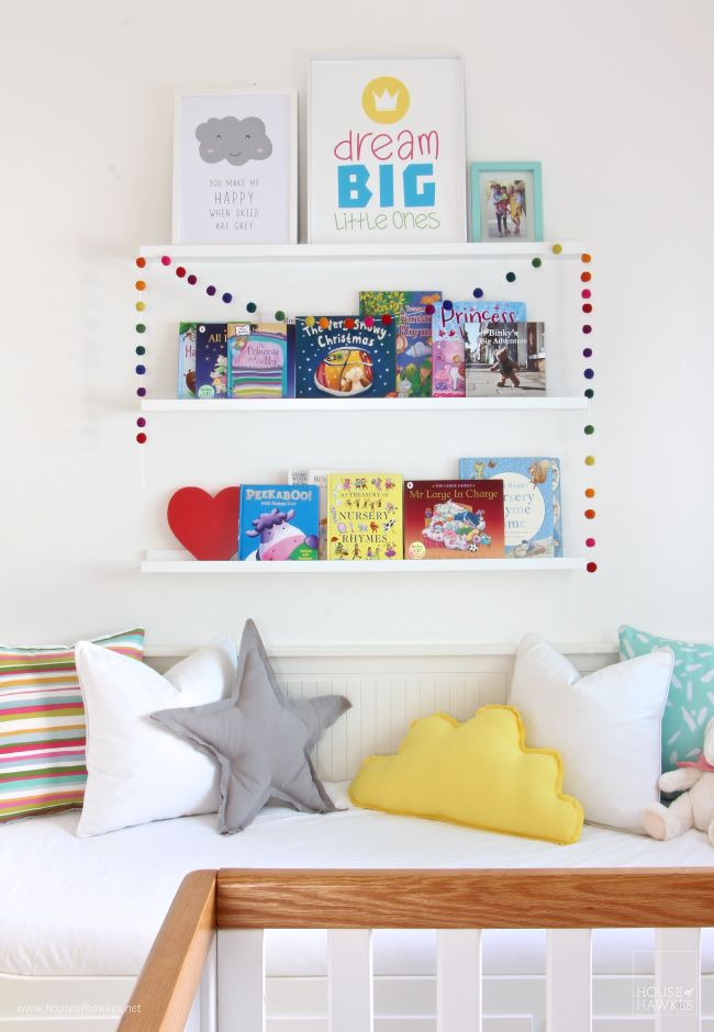 Room makeover for twin boy & girl. See more at www.houseofhawkes.net