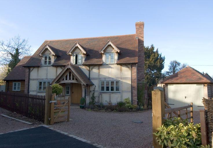 Halfpenny Cottage - Border Oak - oak framed houses, oak framed garages and structures.