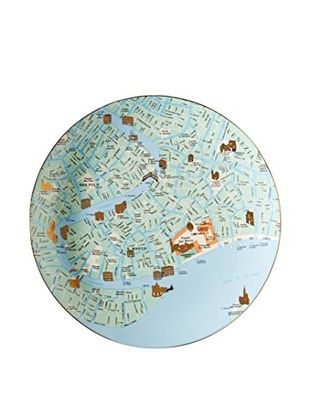 18 best seletti images on pinterest dishes dinner plates and seletti the world dinnerware venice map plate gumiabroncs Gallery