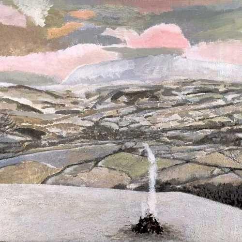 """Haybluff, Midwinter"" by David Inshaw, 1992-94"