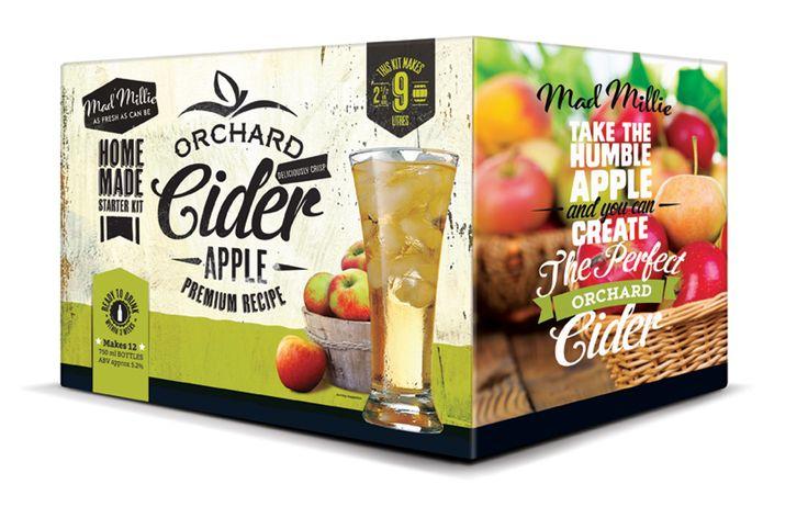 Mad Millie's Cider Started Kit.