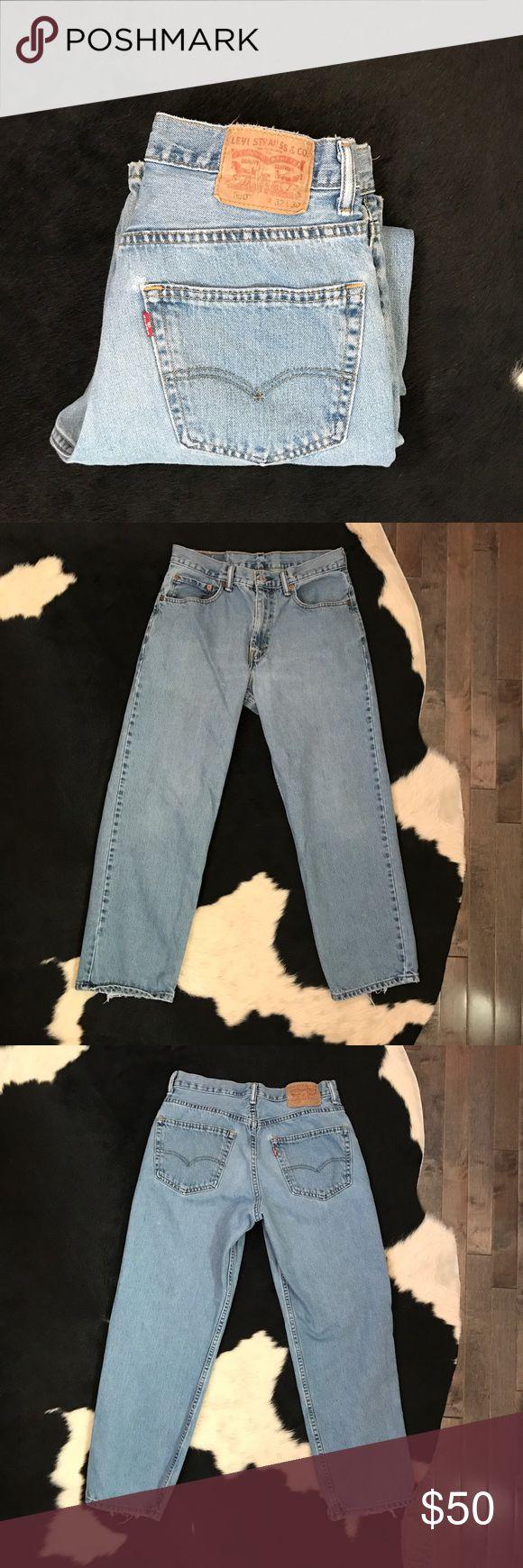 Vintage Levi's 550 high waist jeans Vintage Levi's 550 high waist jeans. Has 31 inch waist Levi's Jeans Skinny