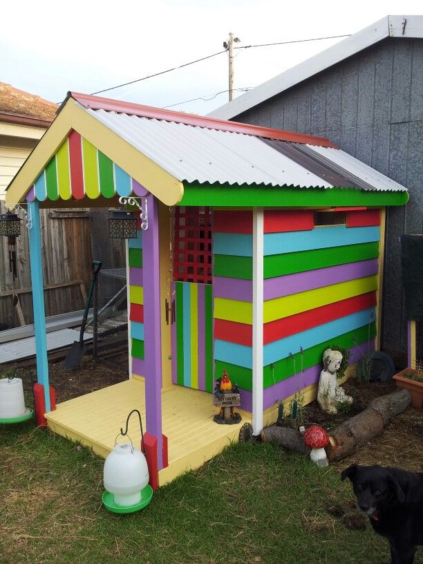 54 Best My Painted Chicken Coop The Hippy Hen House Images
