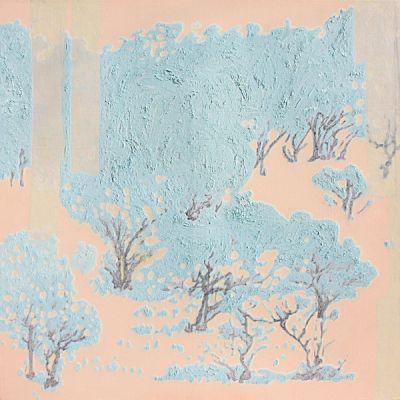 plastic tree5 / 2011 / 162.2 x 162.2 cm (63.8 x 63.8 inch)