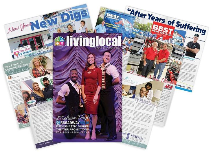 New books out today! Feature some great businesses like; @broadwaypalm  Best Home Services Love Boat Homemade Ice cream and more! #livelocal #newissue #freshcopy #swfl #fortmyers #naples #homedecor #entertainment #events @shulasnaples @cru_fl @kayshallmark @theshivayogashala