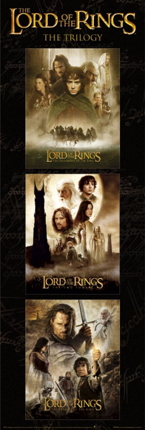 The Lord Of The Rings Trilogy. From epic story, plot, settings, and action !! One of my the best fantasy movies!