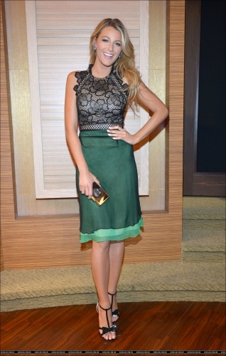 """Savages"" NY Press; Blake Lively"