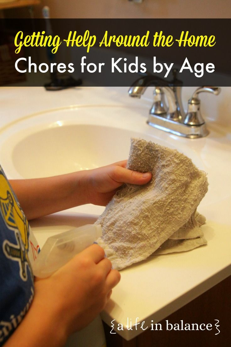 House Cleaning Chore List for Kids: Chores for Kids by Age