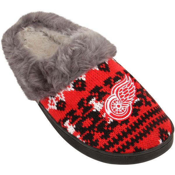Detroit Red Wings Women's Aztec Slide Slippers - $18.99