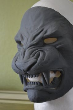 Tezcatlipoca Mask Blank Jaguar Mask Resin by RavenKingRelics