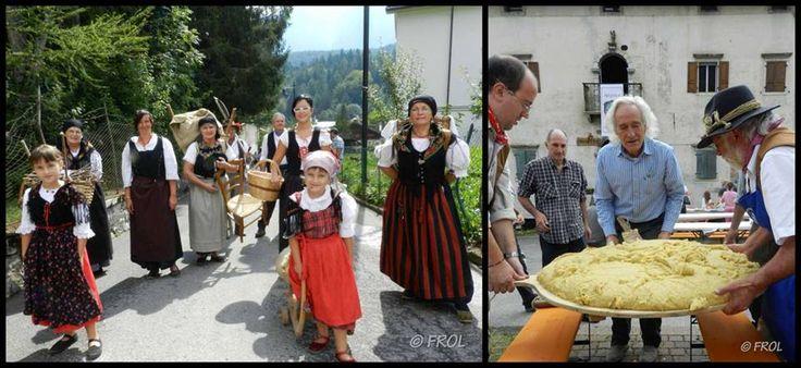 #Vissà, 1 settembre 2013, la #polenta
