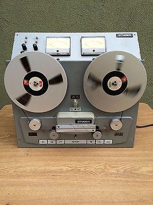 STUDER B62 TAPE DECK REEL TO REEL - www.remix-numerisation.fr - Rendez vos souvenirs durables ! - Sauvegarde - Transfert - Copie - Digitalisation - Restauration de bande magnétique Audio Dématérialisation audio - MiniDisc - Cassette Audio et Cassette VHS - VHSC - SVHSC - Video8 - Hi8 - Digital8 - MiniDv - Laserdisc - Bobine fil d'acier - Micro-cassette - Digitalisation audio - Elcaset