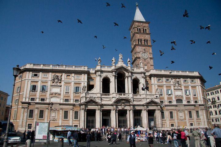 Базилика Санта Мария Маджоре, Рим, Италия