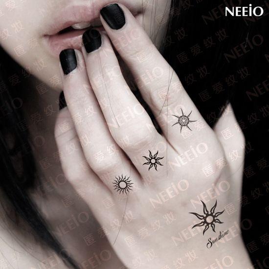Popular Sun Star Tattoo-Buy Cheap Sun Star Tattoo lots from China ...