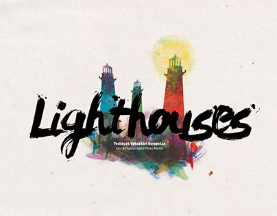 """Check out new work on my @Behance portfolio: """"Lighthouses"""" http://be.net/gallery/31227333/Lighthouses"""