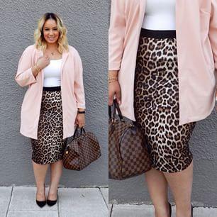 Plus Size Fashion - Plus Size Outfit - BLUSH | beauticurve