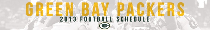 Packers 2013 Season Schedule