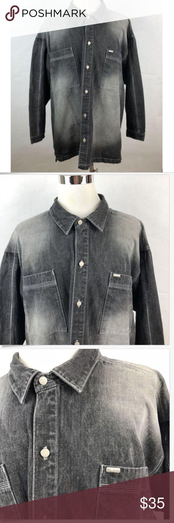 Koman Jeans Denim Jacket Koman Jeans Mens Denim Jacket Size Xxxl Distressed Wash Gray 100 Cotton All Measurements Are Tak Clothes Design Denim Jacket Fashion [ 1740 x 580 Pixel ]