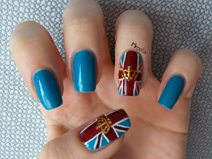 The 25 best british flag nails ideas on pinterest flag nails british flag nail art tutorial full post here httpmroofa prinsesfo Image collections