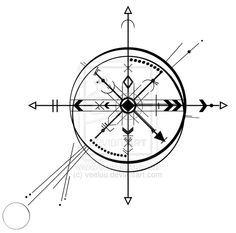 Compass abstract by veeluu.deviantart.com on @DeviantArt