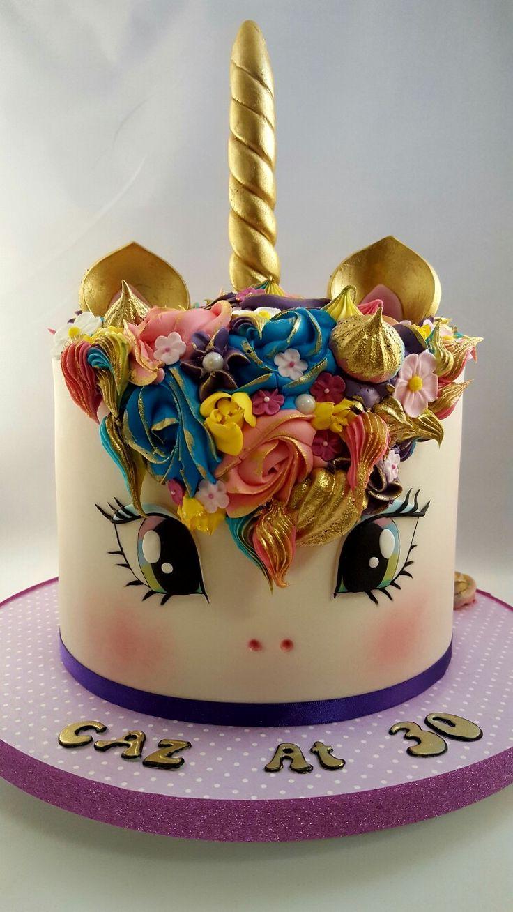 Unicorn Cake https://www.facebook.com/EdnasCakeology/  #unicorncake #ednascakeology #openeyesversionunicorncake #ponycake