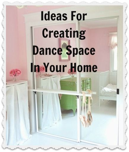 Creating Dance Space at Home, good thing I have a whole basement that's empty!