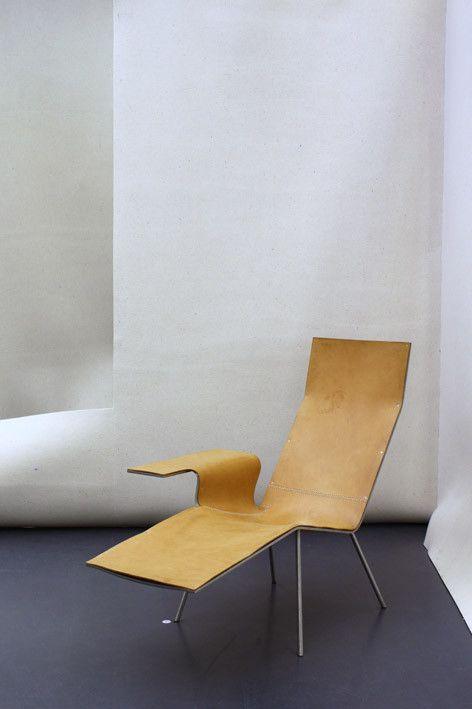 Leather Lounge Chair LL 04' van Maarten van Severen - Like Pastoe - Photo by No22