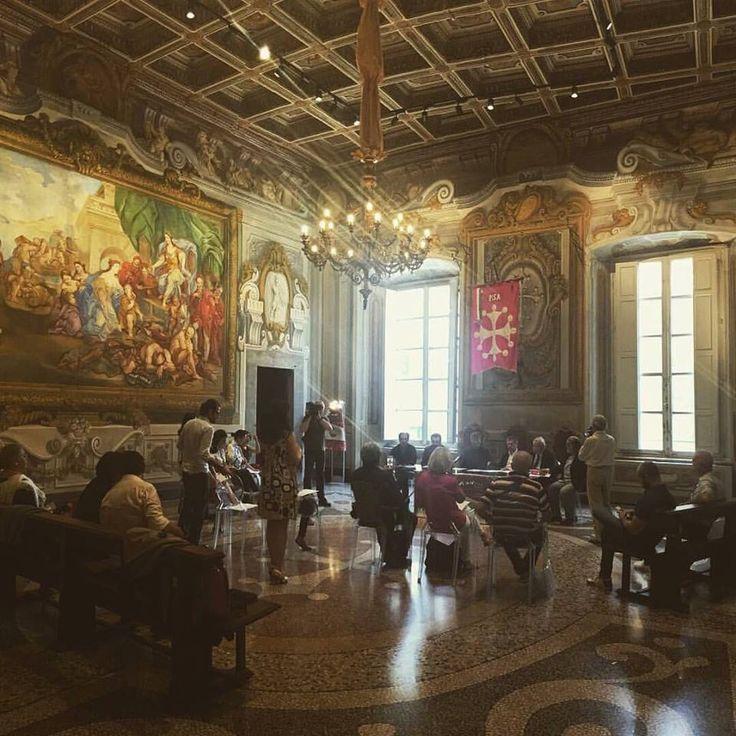 "We'r proud to present Kan Pisa 2016 ""Toccare il Tempo"" 🇮🇹 🇯🇵  #KanYasuda #KanPisa2016 #art #exhibition #pressconference #Pisa #Tuscany #Italy #Japan"