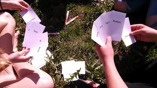 Spoons: A perfect way to practice verbs!