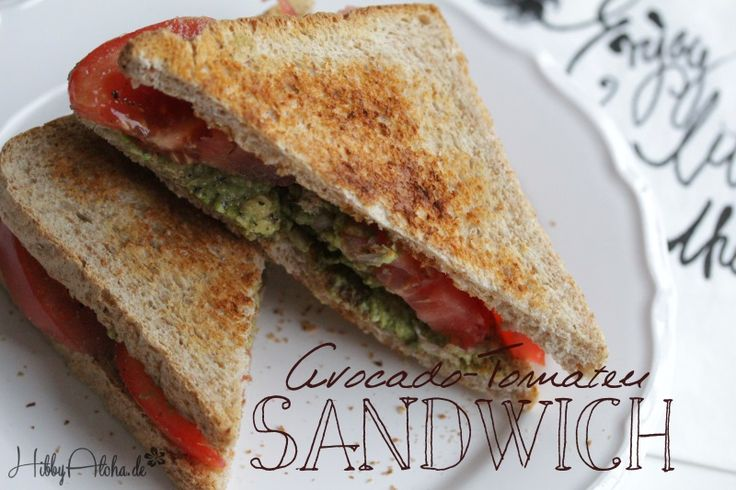 HibbyAloha: {Food Friday} Avocado-Tomaten-Sandwich