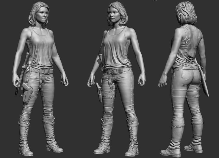 The six inch Maggie and Gov have scanned faces, I normally don't like showing scans since it's not true sculpture but people wanted to see the full pieces so here they are.Rest is from zspheres and simple primitives for the most part.