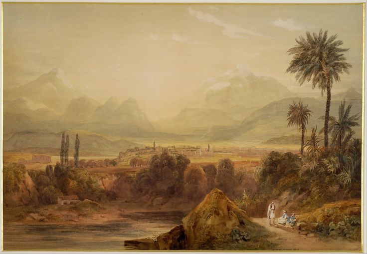 Hugh William Williams (1773-1829)-View of Thebes, 1819