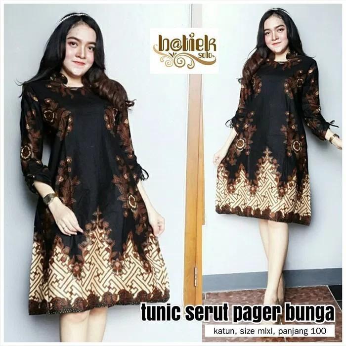 Dt Collection Batik Modern Original Tunik Batik Wanita