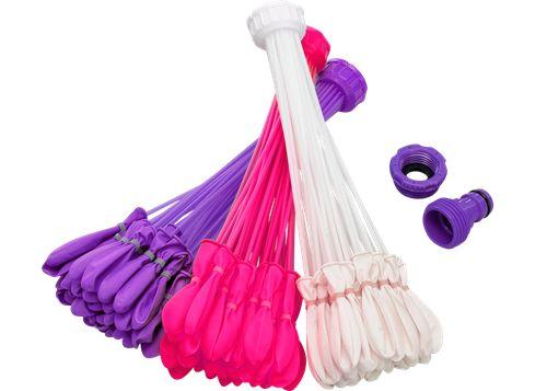 Bunch O Balloons vandballoner Lilla/hvid/pink