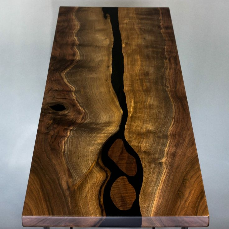 10 Best Black Walnut River Table Images On Pinterest