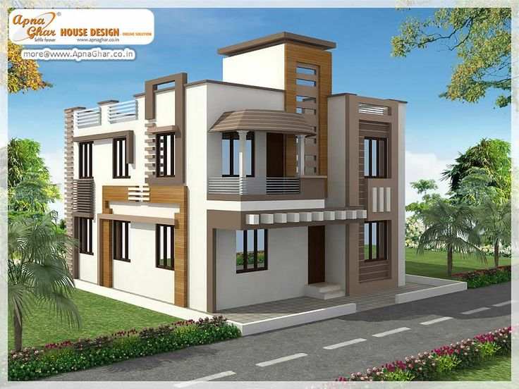 4 Bedrooms Duplex House. Click Link (http://www.apnaghar.co.in/pre Design  House Plan Ag Page 63.aspx) To View Free Floor Plans (naksha) And Other ...
