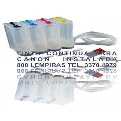 Sistema de tinta continua para impresora Canon http://honduras.clicads.com/sistema_de_tinta_continua_para_impresora_canon-1963332.html