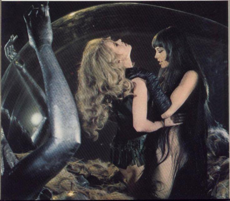 lesbian scene cut barbarella pinterest scene and lesbian