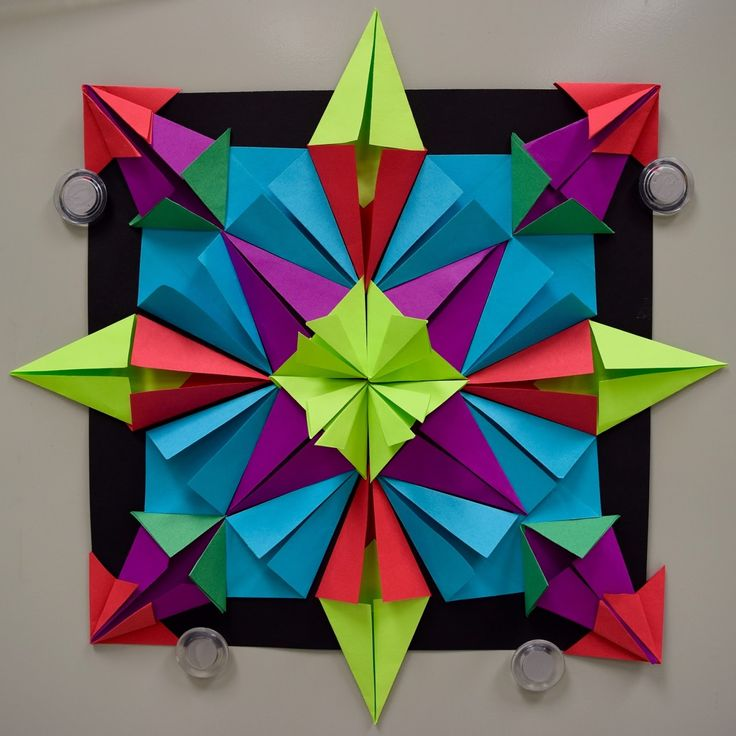 448 best images about elementary art 3 dimensional art for Paper folding art projects